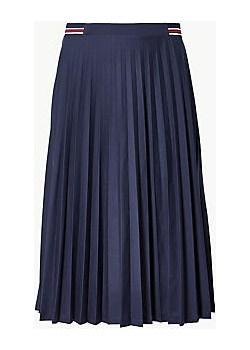 Jersey Pleated Midi Skirt Marks & Spencer  Marks&Spencer - kod rabatowy