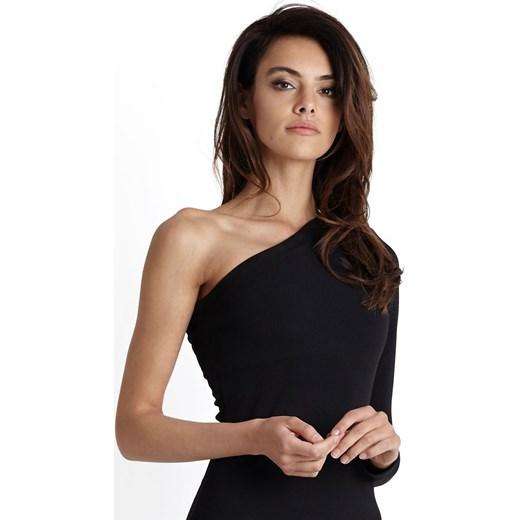 6099d05116 ... sylwestra poliestrowa  Sukienka Ivon czarna na wiosnę na sylwestra  elegancka