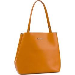 6ab5d0ef41d4f Shopper bag brązowa Bellucci duża casual