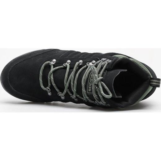 b9247f3bdd85c ... Buty zimowe męskie Adidas sportowe sznurowane z zamszu ...