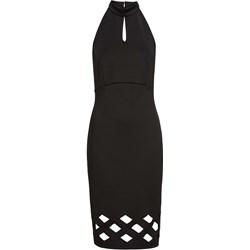 10aabeddfe Sukienka Bodyflirt Boutique bez rękawów bez wzorów