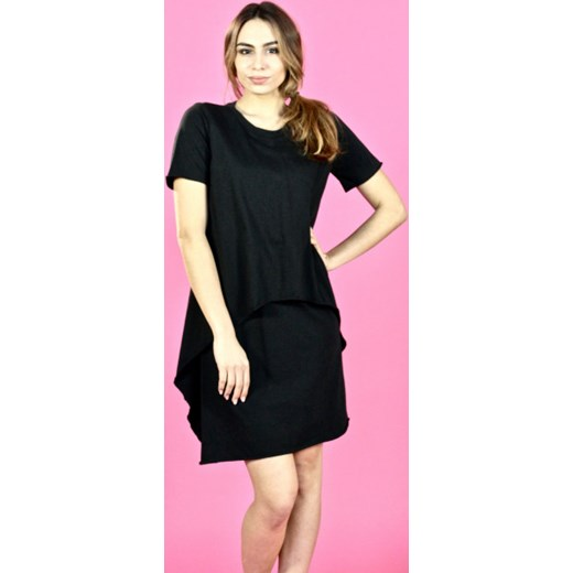 b57c7ded24 Sukienka z warstwami Riquai Clothing showroom.pl w Domodi