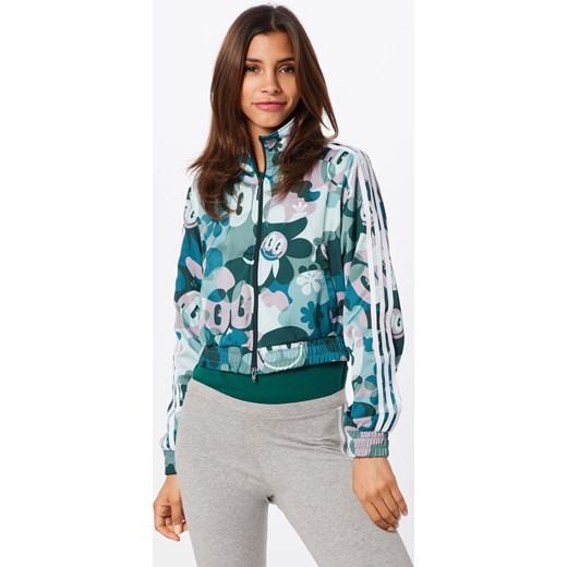 Kurtka damska Adidas Originals w kwiaty krótka
