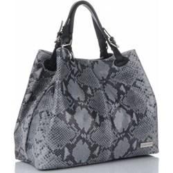 7963bbd4abfbc Genuine Leather. Shopper bag Vittoria Gotti - PaniTorbalska