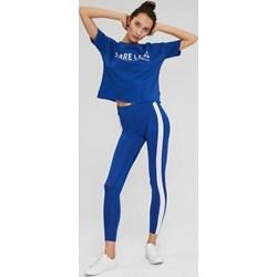 16ac5e97 Niebieska bluzka sportowa Diverse z napisem