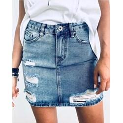 ce5745f7647407 Spódnice jeansowe mini, lato 2019 w Domodi