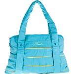 aa10573258b9e Shopper bag niebieska Diesel w stylu młodzieżowym na ramię matowa bez  dodatków z bawełny