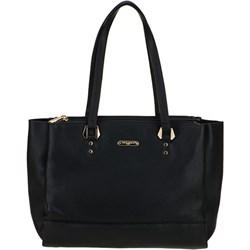 e716e54c267b5 Shopper bag David Jones duża bez dodatków matowa