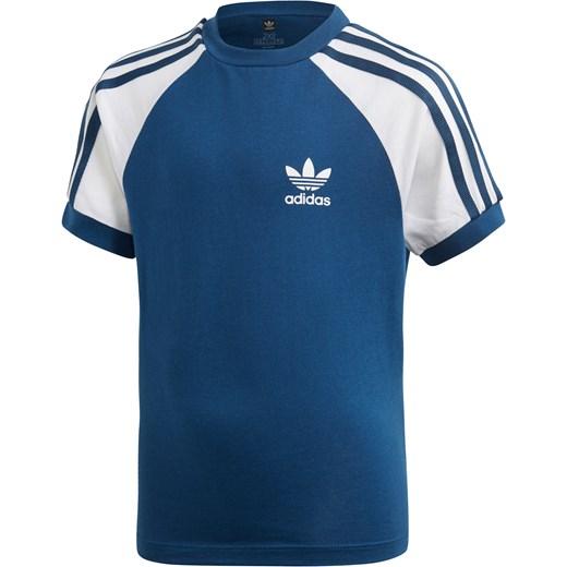 Adidas Originals t shirt chłopięce bez wzorów z krótkim