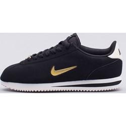 f9468fdbb Buty sportowe damskie granatowe Nike bez wzorów sznurowane