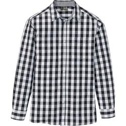 73ecf173630f3 Koszula męska BPC Selection w kratkę z długimi rękawami bawełniana