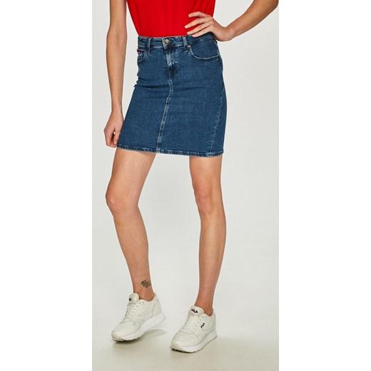 04ba7205a7 Spódnica Tommy Jeans mini bawełniana w Domodi