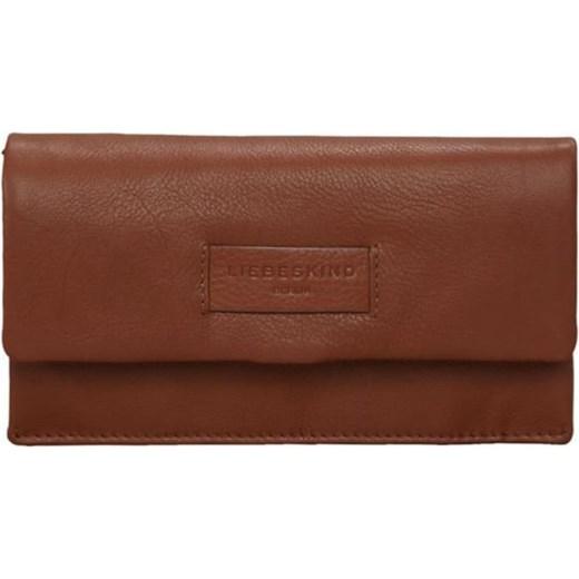 9359ea14c87be Liebeskind Berlin portfel damski brązowy gładki w Domodi