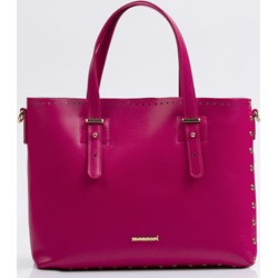 8ea0d47cf2a66 Shopper bag różowa Monnari bez dodatków matowa