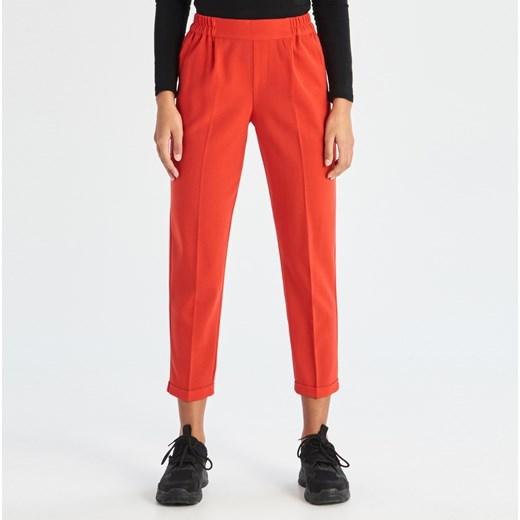 Spodnie damskie Sinsay bez wzorów