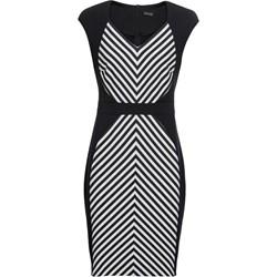 d13dca4b95 Wielokolorowa sukienka BODYFLIRT biznesowa bez rękawów