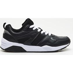 06068fe950804 Czarne buty sportowe męskie Cropp sznurowane