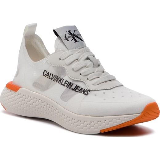 1f179a2d44857 Sneakersy CALVIN KLEIN JEANS - Alexia R7808 Bright White Calvin Klein 40  eobuwie.pl