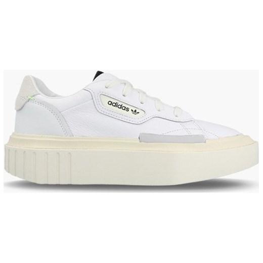 69dab84e4789e Sneakersy damskie Adidas Originals na platformie bez wzorów sznurowane ...