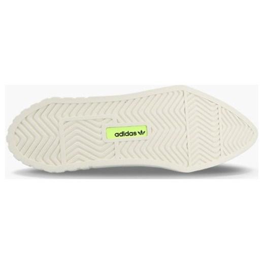 04e7083a87ad6 ... sportowe na platformie bez wzorów skórzane  Sneakersy damskie Adidas  Originals wiosenne sznurowane ...