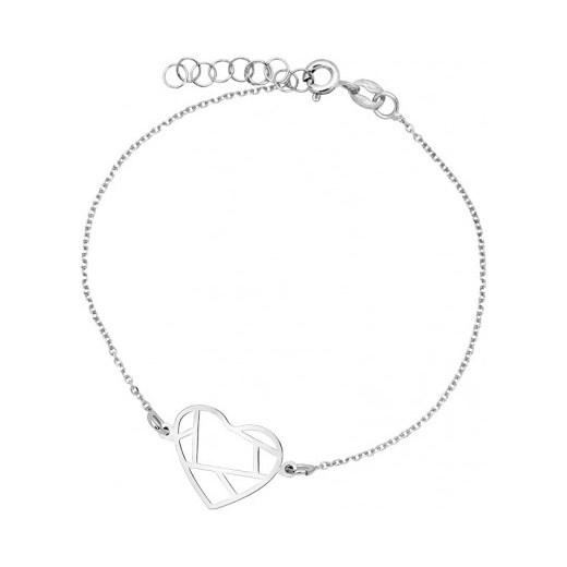 acf8baa415 Biżuteria damska INFINITY BTBK0091 Bransoletka srebrna bialy otozegarki