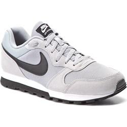 timeless design 25c11 5cc95 Buty sportowe męskie białe Nike z zamszu sznurowane ...