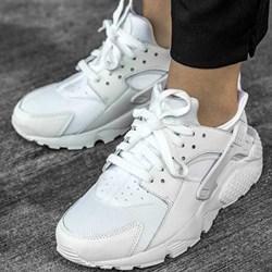 new product f4175 2f863 Buty sportowe damskie Nike do biegania huarache płaskie gładkie