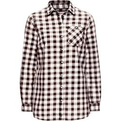 98602410914bd1 Koszula w kratę, z efektem wytarcia, długi rękaw John Baner ...