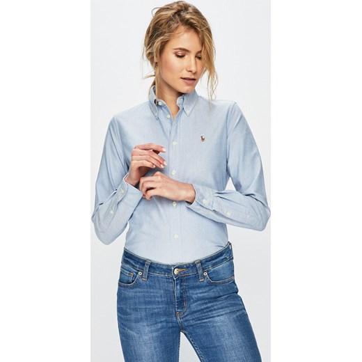 0395a45f9 Koszula damska Polo Ralph Lauren bez wzorów w Domodi
