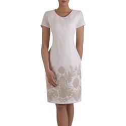 2d8aa39ef3 Białe sukienki wizytowe proste