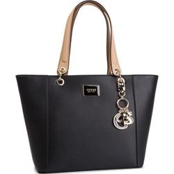 3f55a34ddc66c Shopper bag Guess duża z breloczkiem na ramię ...