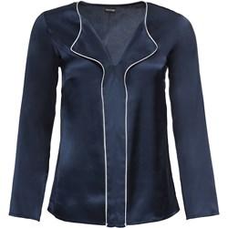e0b1daaed407 Niebieska bluzka damska BODYFLIRT z długimi rękawami