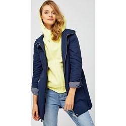 44bf94fa75 Niebieskie kurtki i płaszcze damskie