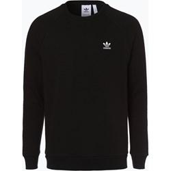 1e1c8024c887 Bluza męska czarna Adidas Originals w sportowym stylu bez wzorów