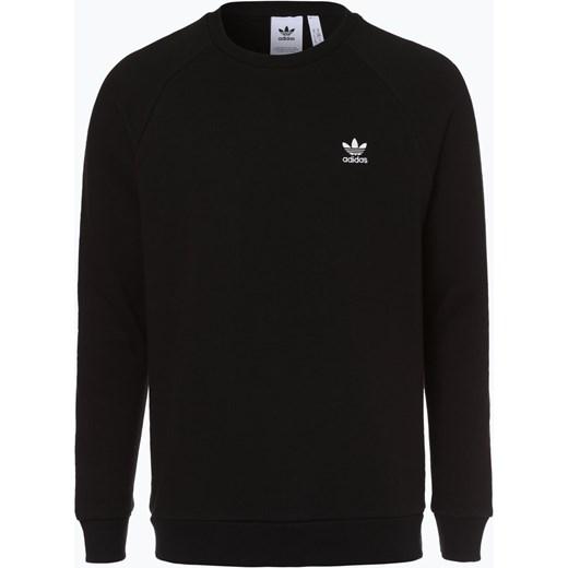 7259b920ad473 Bluza męska czarna Adidas Originals w sportowym stylu bez wzorów w ...