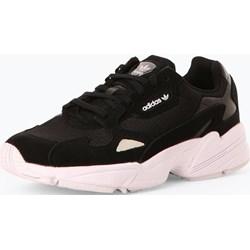 70d393202702 Buty sportowe damskie Adidas Originals młodzieżowe skórzane bez wzorów  sznurowane