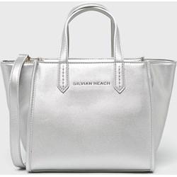 60ad587221b75 Shopper bag Silvian Heach ze skóry ekologicznej