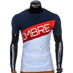T-shirt męski Ombre Clothing - ombre