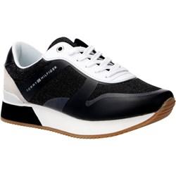 5f3294c0906c7 Sneakersy damskie Tommy Hilfiger na koturnie sznurowane