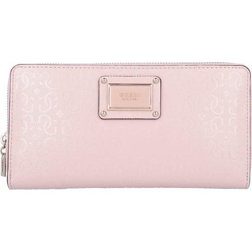 f1f65bc6f4977 Portfel damski Guess różowy elegancki w Domodi