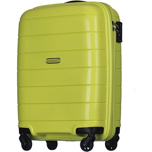 672d73d22cd1f Mała kabinowa walizka PUCCINI MADAGASCAR PP013C 5 Limonkowa Puccini  uniwersalny Bagażownia.pl
