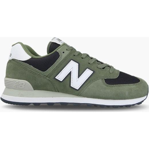 Buty sportowe męskie New Balance new 575 wiązane zielone wiosenne