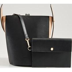435273ca83f4a Shopper bag Mohito mieszcząca a8 bez dodatków matowa elegancka