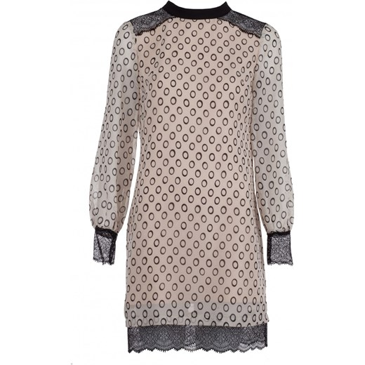 2262388cca Sukienka Vissavi oversize owa mini na wiosnę z długim rękawem na urodziny  ...