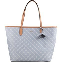 167f985223432 Shopper bag niebieska Joop! skórzana duża