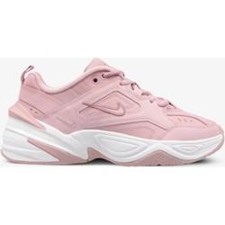 quality design 7d638 af94f Buty sportowe damskie Nike na koturnie młodzieżowe gładkie sznurowane
