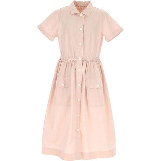 70b29d48d7 Sukienka dziewczęca różowa Bonpoint w Domodi