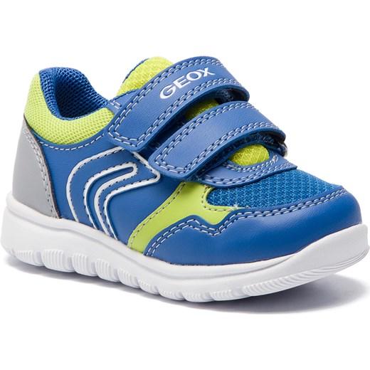 47d00c799fd54 Buty sportowe dziecięce Geox z tworzywa sztucznego na rzepy