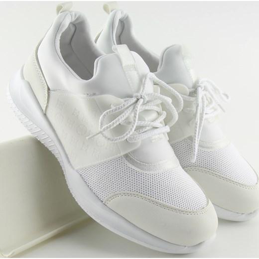 Buty sportowe damskie białe Buty Damskie YQ biały Buty