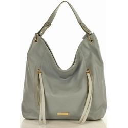 22b0fd1754a40 Shopper bag Monnari zielona duża na ramię